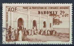 Dahomey (French Colony, Now Benin), 2f.+6f., Childhood Welfare, 1942, VFU Airmail - Dahomey (1899-1944)