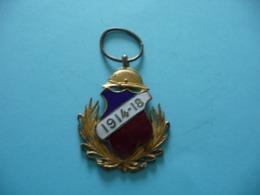 Médaillette Patriotique De POILU 1914 1918 - Francia