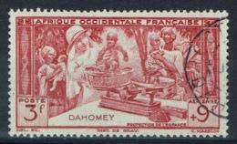 Dahomey (French Colony, Now Benin), 3f.+9f., Childhood Welfare, 1942, VFU Airmail - Dahomey (1899-1944)