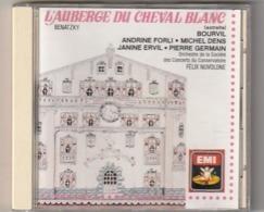 CD L AUBERGE DU CHEVAL BLANC  Benatzy Avec Bourvil    Etat: TTB Port 110 GR - Classical