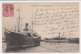 Port St Louis Du Rhone Arrivée Et Depart De Navires - Francia