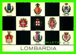 BERGANO, ITALIA - 8 MULTIVUES OF LOMBARDIA - EDIZ, GIESSE - - Bergamo