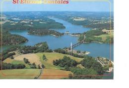 15 SAINT ETIENNE CANTALES Cpm Village Et Camping Du Viaduc De Ribeyres - Frankreich