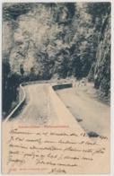 Klausenstrasse Pfaffensteinkehre - Balekstempel Stachelberg 13-8-1902 - GL Glaris