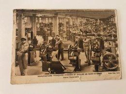 Carte Postale Ancienne  (1937) Manufacture Française D'armes Et Cycles De Saint-Etienne - Saint Etienne
