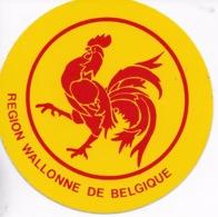 Autocollant. Coq Wallon. Région Wallonne. Wallonie - Other Collections