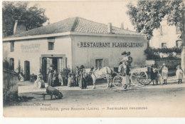 42 // RIORGES    Près Roanne   Restaurant PLASSE LETANG   Restaurant Renommé - Riorges