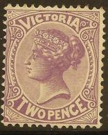 VICTORIA 1901 2d Violet QV SG 377 HM #QI452 - Neufs