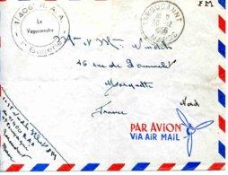 Maroc - Taroudant, Lettre En Franchise Militaire  Du 1/406° R.A.A , Batterie-  - 1956 - Marcophilie (Lettres)