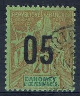 "Dahomey (Benin), ""Groupe"" Overprint, 05/20c., 1912, VFU - Dahomey (1899-1944)"