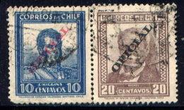 CHILE, NO.'S O38-O39 - Chile