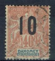 "Dahomey (Benin), ""Groupe"" Overprint, 10/40c., 1912, VFU - Dahomey (1899-1944)"