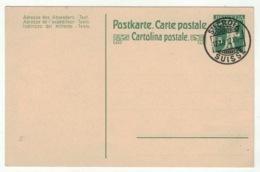 Suisse // Schweiz // Switzerland // Entier Postaux // Entier Postal Avec Cachet Ste Croix Du 12.12.12 - Stamped Stationery