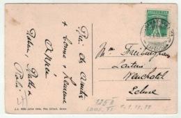 Suisse // Schweiz // Switzerland // 1907-1939 //  Carte Pour Neuchâtel Avec Cachet Du 1.1.11.11 - Switzerland