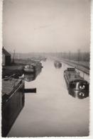 NOYELLES-GODAULT (P.de C.) Canal Avec Péniches - Frankrijk