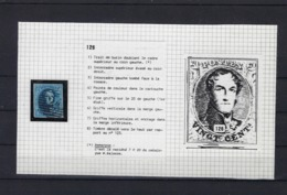 N°7 (plaat III Positie 126) GESTEMPELD MET 4 MARGES SUPERBE - 1851-1857 Médaillons (6/8)