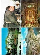 LOT 4 Cpm - Enfant De La Rue Basilica Santuario Nuestra - Bolivia