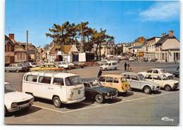 Coutainville - Volkswagen Bus Transporter T2 VW Citroen  Dyane. Renault 4L Renault 12  Peugeot 304 504.. CIM. Edit Cim - France