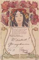 Jugendstil  ,  I Fiori Di Papavero  -  Edit.  E.B. & C.i.B.  ,  S. 9040 - Illustratori & Fotografie