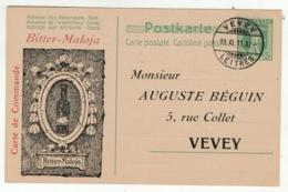 Suisse // Schweiz // Switzerland // Entier Postaux //  Entier Postal Privé Avec Cachet Du 11.11.11.11 - Stamped Stationery