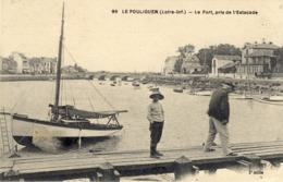 44)   LE  POULIGUEN    -  Le Port Pris De L'Estacade - Le Pouliguen