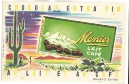 BUVARD - Chocolat Extra Fin MENIER - LAIT CAFE - Cocoa & Chocolat
