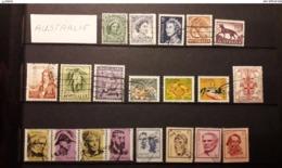 AUSTRALIE - 108 TIMBRES - Lot 20 - Voir Mes Autres Ventes De 150 Pays - Stamps