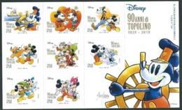 Italia, Italy, Italien, Italie 2017; 90° Fumetti Disney In Italia, Mickey Mouse And His Friends, Topolino: Foglietto. - Disney