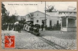 54 / Lot De 10 Cartes : NANCY - Exposition De Nancy En 1909 (toboggan, Guignol, Petit Chemin De Fer, Ferme Lorraine...) - Nancy