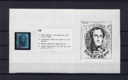 N°7 (plaat III Positie 138) GESTEMPELD MET 4 MARGES SUPERBE - 1851-1857 Médaillons (6/8)