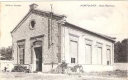 Cpa MONTOLIVET 13  Usine Electrique  Ecrite 1915   -D- - Other Municipalities