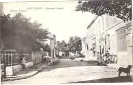 Cpa MONTOLIVET 13  Boulevard Durand  Ecrite 1915   -D- - France