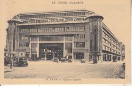 Agence  CITROËN à LYON - Cartes Postales