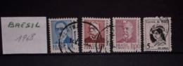 BRÉSIL- 4 TIMBRES - Lot 26 - Voir Mes Autres Ventes De 150 Pays - Postzegels