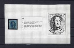 N°7 (plaat III Positie 147) GESTEMPELD MET 4 MARGES SUPERBE - 1851-1857 Médaillons (6/8)
