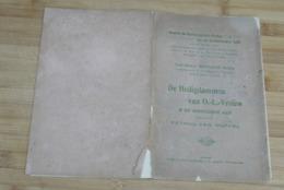 Aalst Van Nuffel 1911 Heiligdommen Van O.l.vrouw Zeldzaam - Documents Historiques