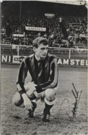 Robbie Rensenbrink   Dédicacée - D.W.S. Amsterdam 1965/1969 - Anderlecht - Football
