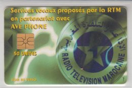 MOROCCO RTM RADIO TELEVISION MAROCAINE - Maroc