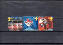 Inglaterra Nº 1621-23 Olimpiadas, Serie Completa En Nuevo 5,25 € - Verano 1992: Barcelona