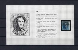 N°7 (plaat III Positie 160) GESTEMPELD MET 4 MARGES SUPERBE - 1851-1857 Médaillons (6/8)