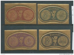 BAHAMAS : (Sc # 284-87), MNH (Complete Set Of 4), Gold Coins Featuring QE II Bust (1968) - Bahama's (1973-...)