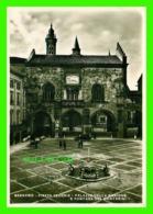 BERGAMO, ITALIA - PIAZZA VECCHIA, PALAZZO DELLA RAGIONE E FONTANA DEL CONTARINI - TRAVEL IN 1936 -  VIRDUX - - Bergamo