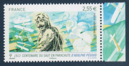 Poste Aérienne N° 76 A , Adolphe Pégoud , Provenant De La Feuille De 10 Timbres , Port Gratuit - Poste Aérienne