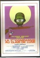 Carte Postale : La 7ème Compagnie Au Clair De Lune (cinéma Affiche Film) Illustration Hervé Morvan - Posters On Cards