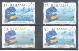 BAHAMAS 2005 EUROPA CEPT 50th ANNIV. SC# 1150/53 4 Stamps  MNH - Bahama's (1973-...)