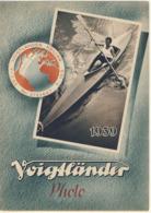 Dépliant Publicitaaire VOIGTLANDER 1939 BESSA  BRILLANT - Publicidad