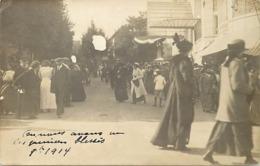 Themes Div-ref BB955- Carte Photo Non Située -dans Texte Premiers Bléssés Guerre 1914-18- - Postkaarten