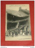 MILITARIA - DENAIN  -   Maison De Commerce  Rue De Villars , Détruite Par Les Bombardements - Guerre 1914-18