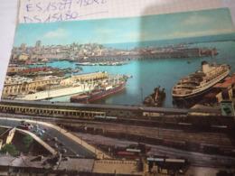 GENOVA PORTO NAVE SHIP LEONARDO DA VINCI  E CARGO   V1960 HG1773 - Genova