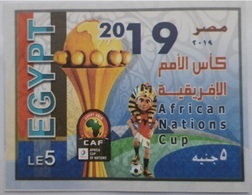 Egypt- Africa Cup Of Nations - Unused MNH  M/S -  [2019] (Egypte) (Egitto) (Ägypten) (Egipto) (Egypten) Africa - Neufs